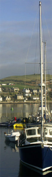 Campbeltown pontoon and loch