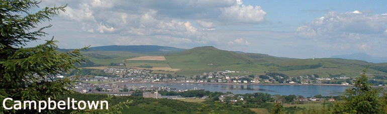 Campbeltown from Bein Ghuliean